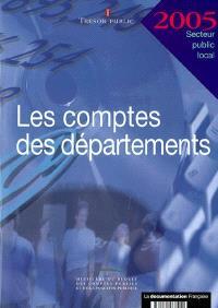Les comptes des départements 2005