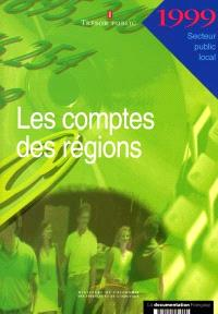 Les comptes des régions 1999