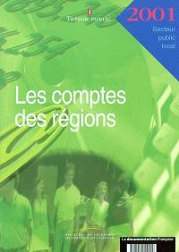 Les comptes des régions 2001