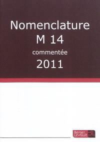 Nomenclature M14 commentée : 2011
