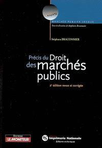 Précis du droit des marchés publics
