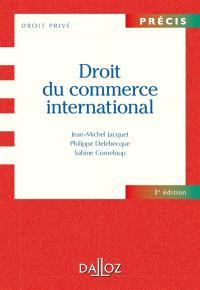 Droit du commerce international