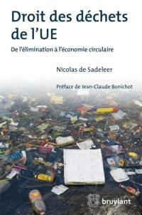 Droit des déchets de l'UE : de l'élimination à l'économie circulaire
