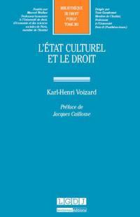 L'Etat culturel et le droit