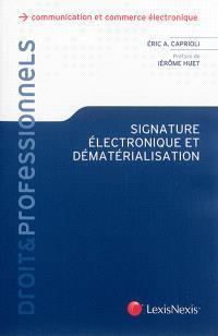 Signature électronique et dématérialisation
