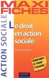 Le droit en action sociale