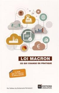 Loi Macron : ce qui change en pratique