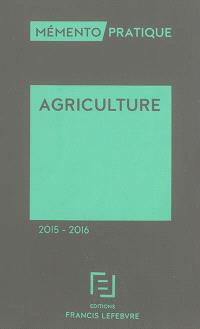 Agriculture 2015-2016
