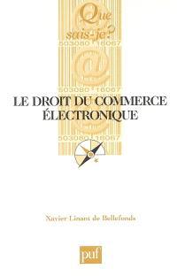 Le droit du commerce électronique