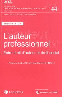 L'auteur professionnel : entre droit d'auteur et droit social