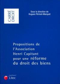 La réforme des biens