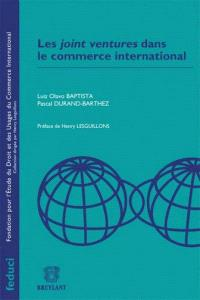 Les joint-ventures dans le commerce international