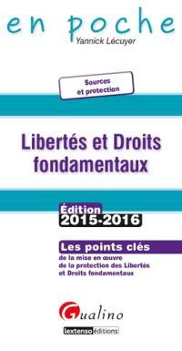 Libertés et droits fondamentaux : les points clés de la mise en oeuvre de la protection des libertés et droits fondamentaux