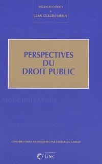 Perspectives du droit public : mélanges offerts à Jean-Claude Hélin
