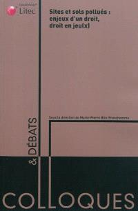 Sites et sols pollués : enjeux d'un droit, droit en jeu(x) : actes du colloque du 24 octobre 2008