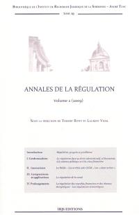 Annales de la régulation. Volume 2, 2009