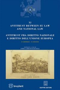Antitrust between EU law and national law : XI conference = Antitrust fra diritto nazionale e diritto dell'unione europea : XI convegno