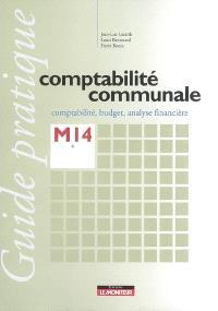 Comptabilité communale, M14 : comptabilité, budget, analyse financière