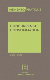 Concurrence consommation 2015-2016