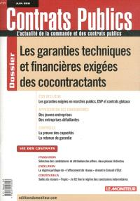 Contrats publics, l'actualité de la commande et des contrats publics. n° 111