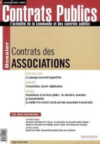 Contrats publics, l'actualité de la commande et des contrats publics. n° 68, Contrat des associations