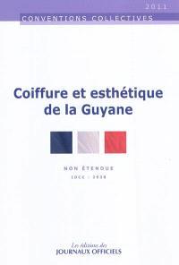 Convention collective régionale du 25 novembre 2008 : coiffure et esthétique de la Guyane : IDCC 2938