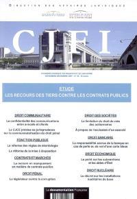Courrier juridique des finances et de l'industrie (Le). n° 48