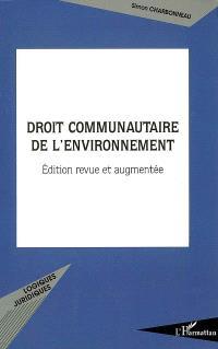 Droit communautaire de l'environnement