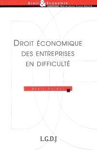 Droit économique des entreprises en difficulté