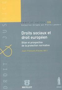 Droits sociaux et droit européen : bilan et prospective de la protection normative : actes de la journée d'études du 19 octobre 2001