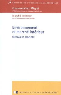 Environnement et marché intérieur