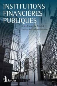 Institutions financières publiques