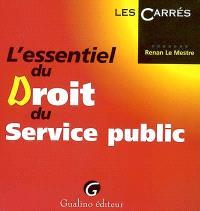 L'essentiel du droit du service public