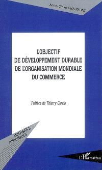 L'objectif de développement durable de l'Organisation mondiale du commerce