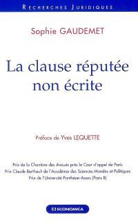 La clause réputée non écrite