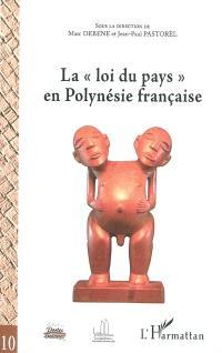 La loi du pays en Polynésie française