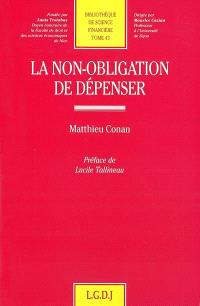 La non-obligation de dépenser