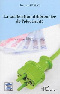 La tarification différenciée de l'électricité