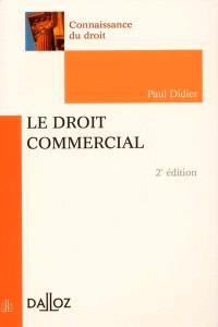 Le droit commercial