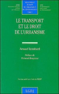 Le transport et le droit de l'urbanisme