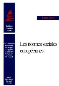 Les normes sociales européennes