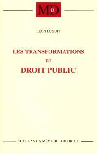 Les transformations du droit public