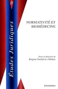 Normativité et biomédecine