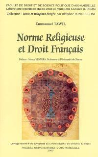 Norme religieuse et droit français
