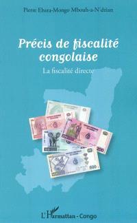 Précis de fiscalité congolaise : la fiscalité directe