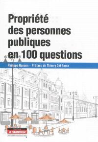 Propriété des personnes publiques en 100 questions