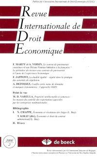 Revue internationale de droit économique. n° 2(2006)