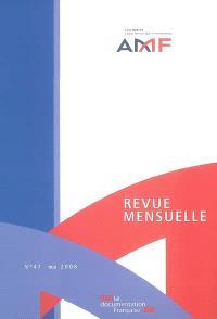 Revue mensuelle de l'Autorité des marchés financiers. n° 47