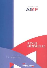 Revue mensuelle de l'Autorité des marchés financiers. n° 51