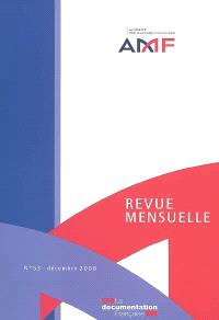 Revue mensuelle de l'Autorité des marchés financiers. n° 53